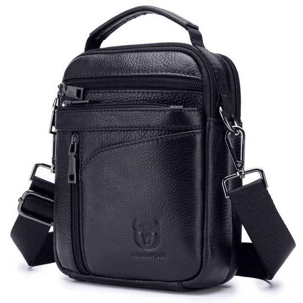 3d0bfa7194 Pánska kožená taška HandySpace od Bullcaptain